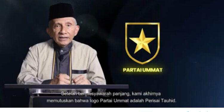 Amien Rais Perkenalkan Logo Partai Ummat - Parade.id
